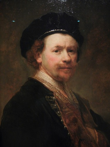 DSCN7597 _ Self-Portrait (detail), c. 1636-38, Rembrandt van Rijn (1606-1669), Norton Simon Museum, July 2013