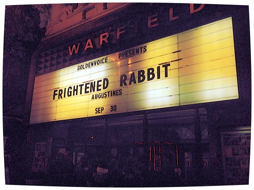 Frightened Rabbit, 09-30-2013