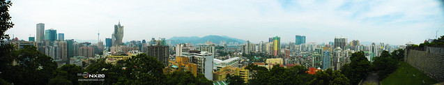 panoramic macau city view
