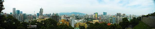 panoramic macau city view