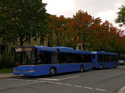 Der Buszug an der Ittlingerstraße