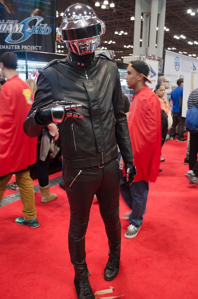 NYCC 2013 Daft punk cosplay.