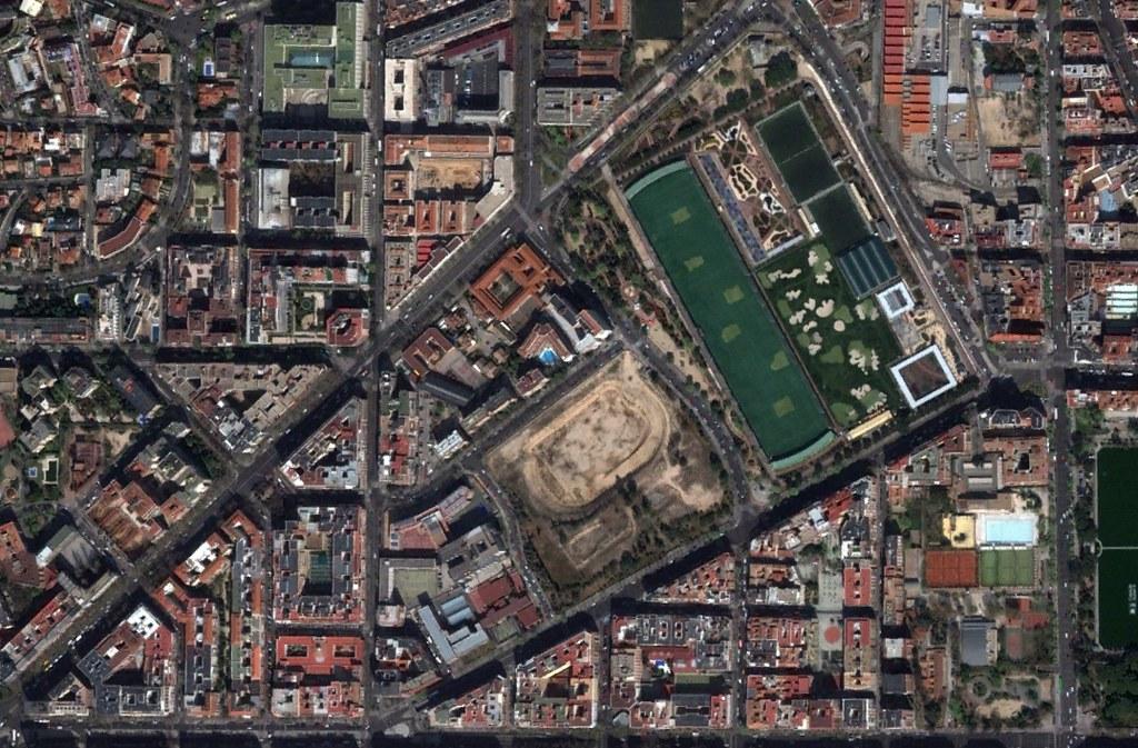 estadio de vallehermoso, parque da santander, madrid, el bolsas, el golf, el olimpismo, después, urbanismo, planeamiento, urbano, desastre, urbanístico, construcción, rotondas, carretera