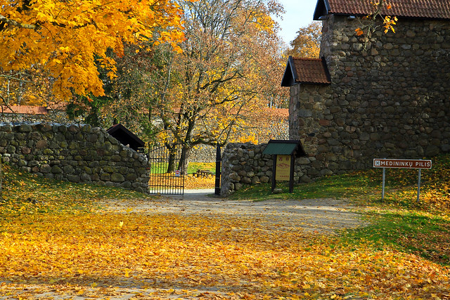 Medininkų pilies vartai