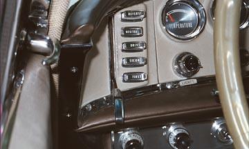 Old Chrysler push button gear shift