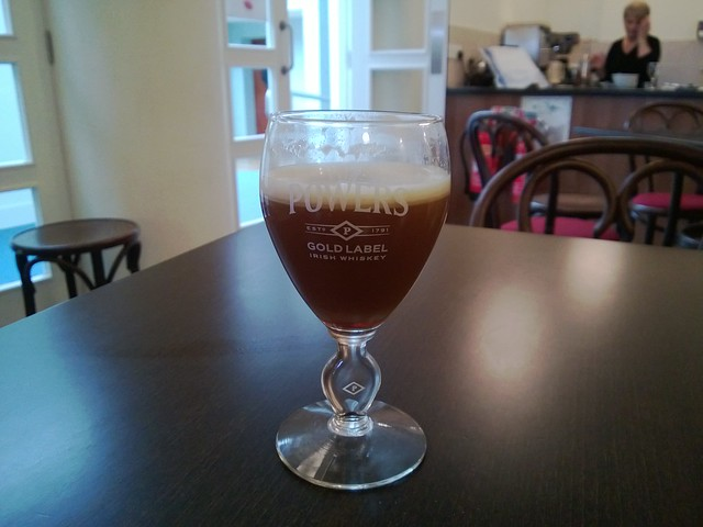 Irish coffee at Foynes Flying Boat museum