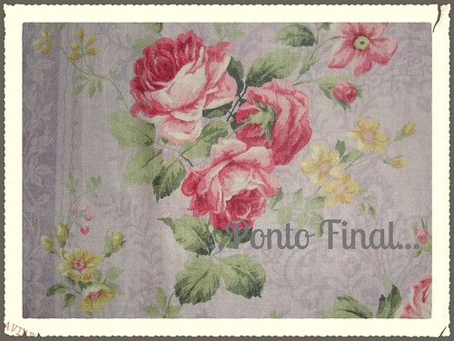 ...Tecido Floral... by Ponto Final - Patchwork