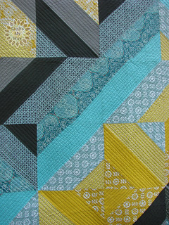 Fancy Fence quilt- front