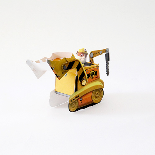 Rubble-Printable-Vehicle