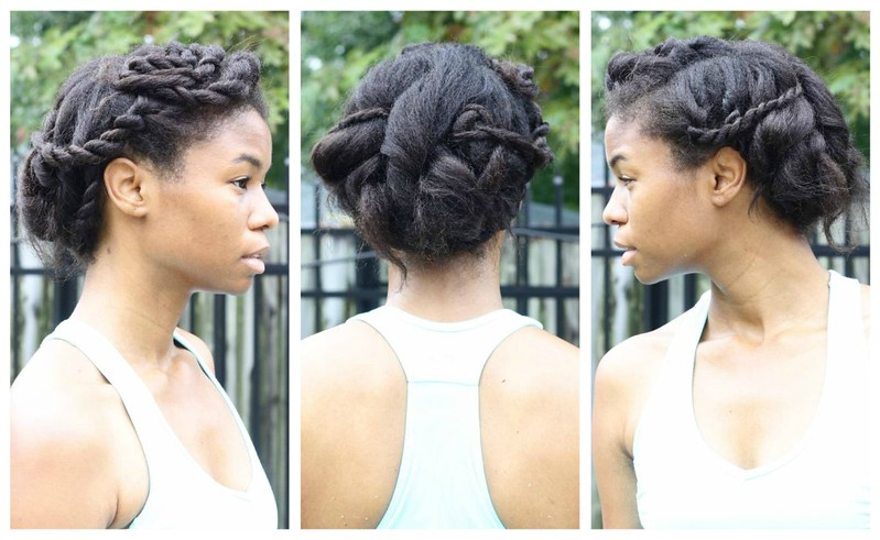 elegant protective style after
