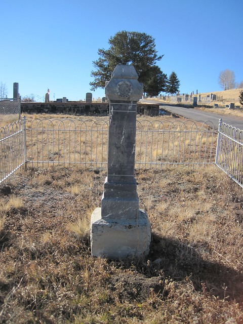 Mason's Marker at the Mt. Pisgah Cemetery