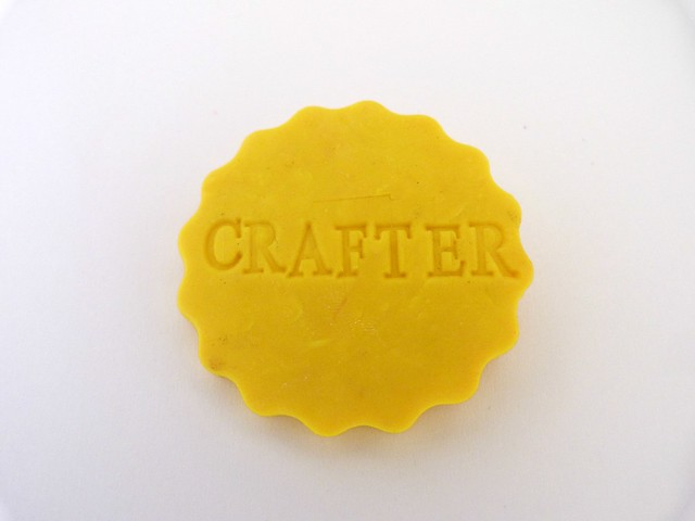 Crafter brooch