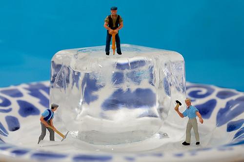 Rompiendo el hielo - Breaking the ice