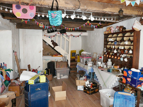 Shop interior, Monday before
