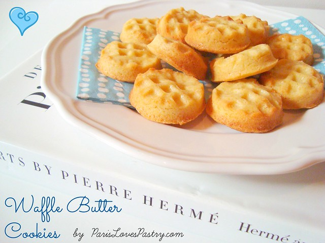 Waffle Butter Cookies