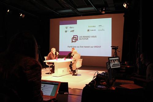André Brahic invité des RDV du Futur 7.11.2013