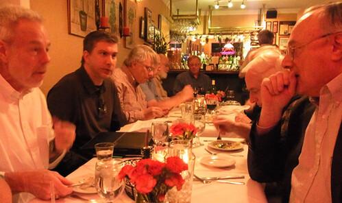 Nummis Nova dinner November 2013