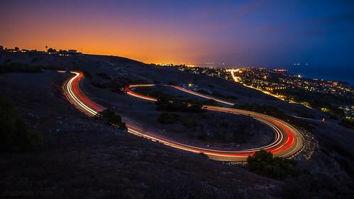 california losangeles lighttrails 1022mm palosverdes canon7d ©shabdrophoto