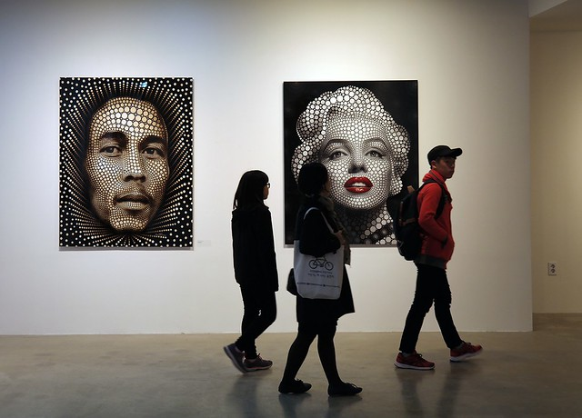 Ben Heine Solo Exhibition at Hyehwa Art Center in Seoul, South Korea