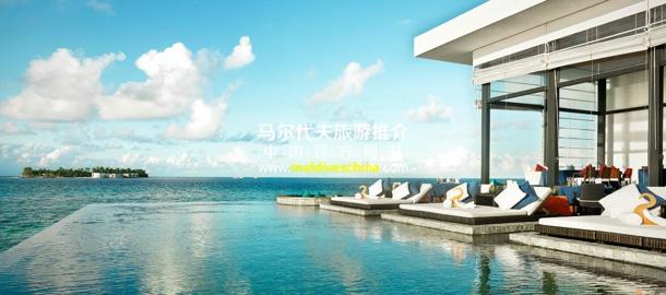 马尔代夫度假村氛围