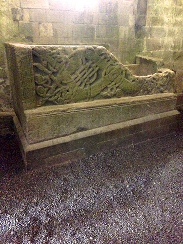 Sarcophagus at Rock of Cashel