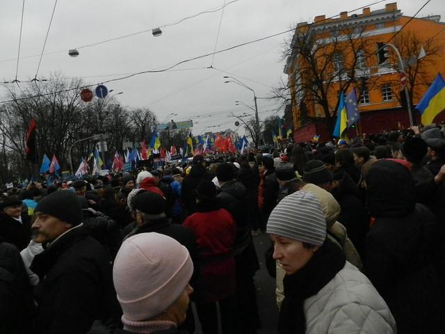 Парк Шевченко. 1 декабря