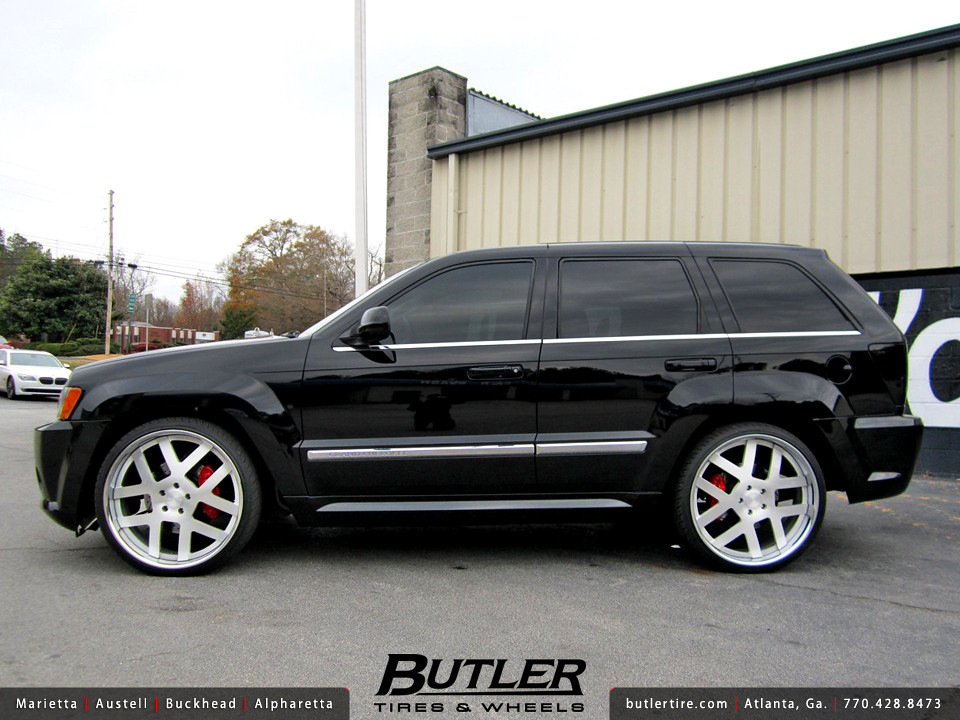 jeep grand cherokee srt8 with 24in rodtana rt wheels flickr photo. Cars Review. Best American Auto & Cars Review