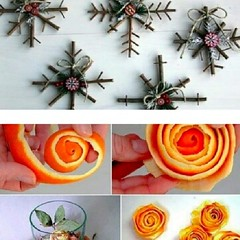 Upcycled decoration ideas