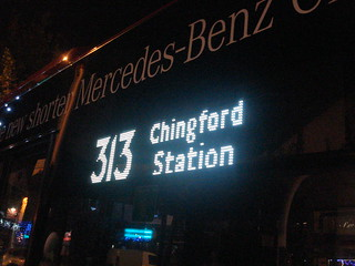 313 to Chingford Station