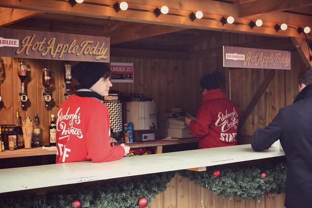Edinburgh Christmas market 2013