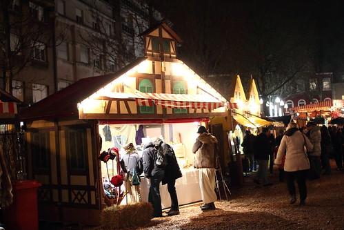 Medieval stalls