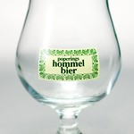 ベルギービール大好き!!【ホメル・ビールの専用グラス】(管理人所有 )