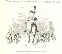 """British Library digitised image from page 291 of """"Hawbuck Grange: or, the Sporting adventures of Thomas Scott, Esq. By the author of 'Handley Cross' [i.e. R. S. Surtees] ... With eight illustrations by Phiz"""""""