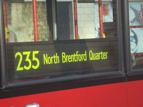 235 to North Brentford Quarter