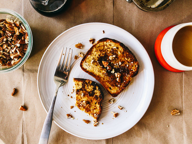 Saffronog french toast