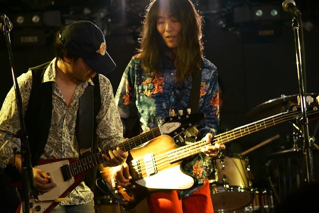 Wishbone Mash live at Outbreak, Tokyo, 21 Dec 2013. 310
