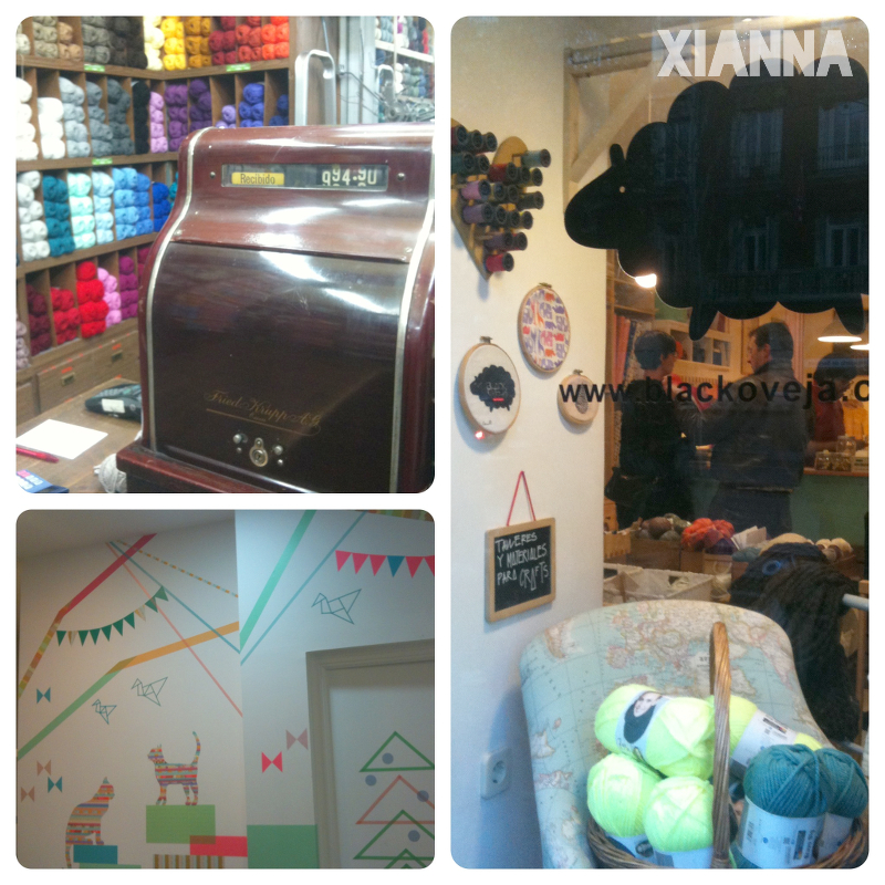 Crafty weekend, shopping tour in Madrid