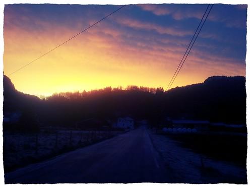 sunrise traktoregg flikka flickrandroidapp:filter=chameleon