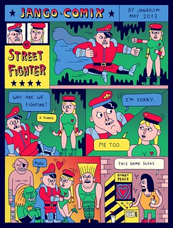 JANGO COMIX - STREET FIGHTER