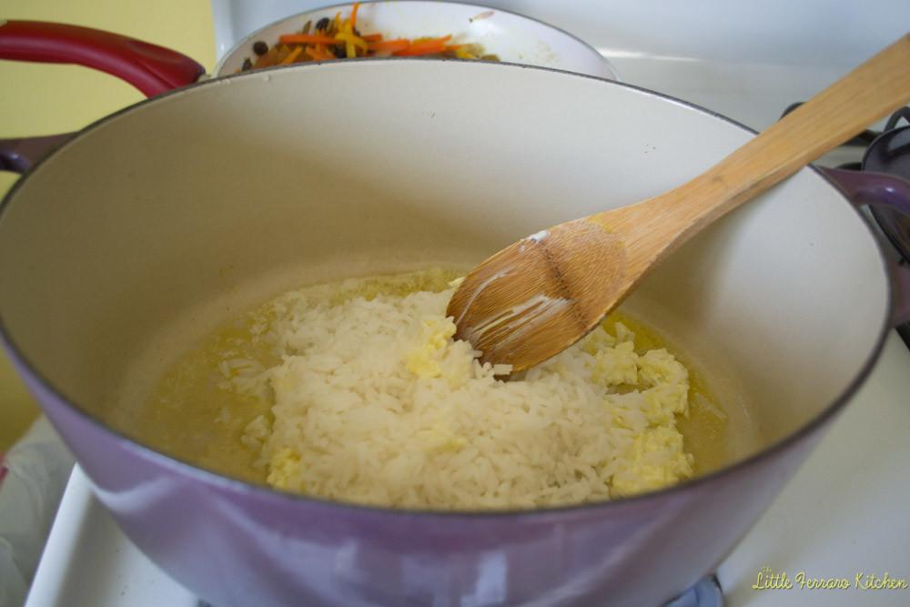 Persian Jeweled Rice via LittleFerraroKitchen.com