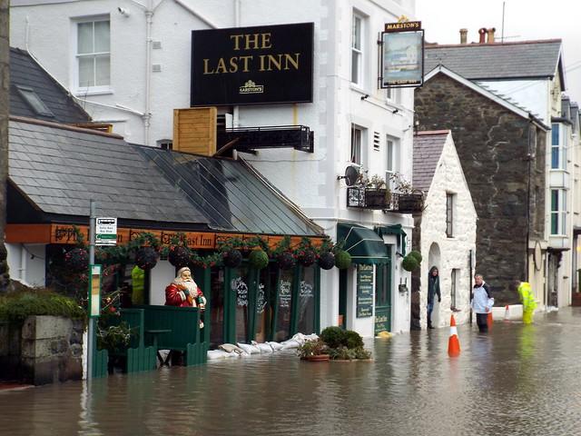 Storm surge at Barmouth.