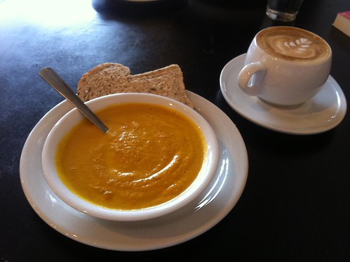 Sweet Potato Bisque by raise my voice