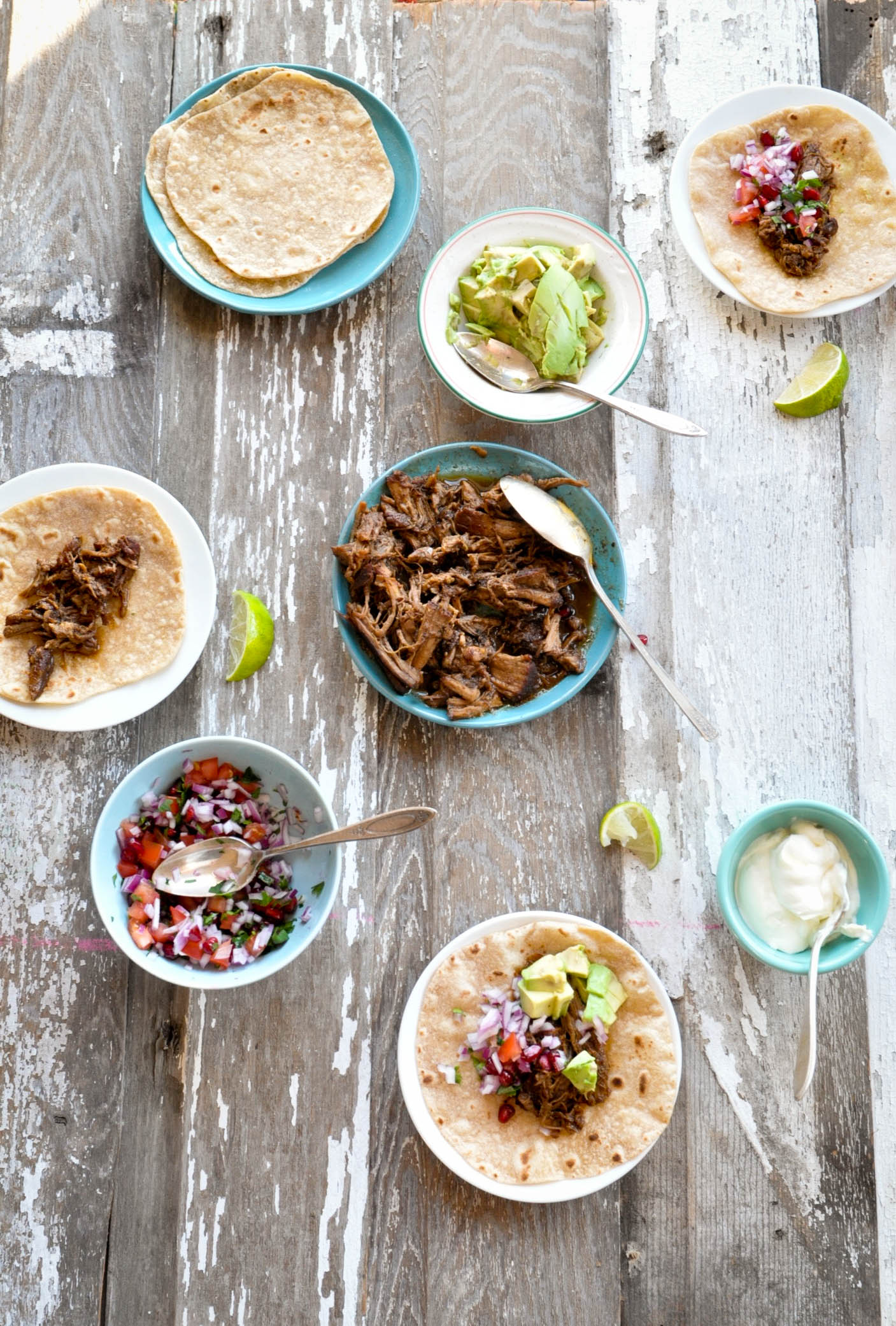 Coffee & Spice Pork Butt Tacos