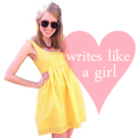 writes like a girl