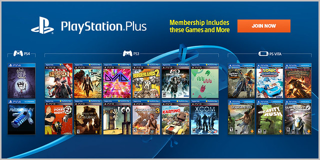 PlayStation Plus Update 1-14-2014