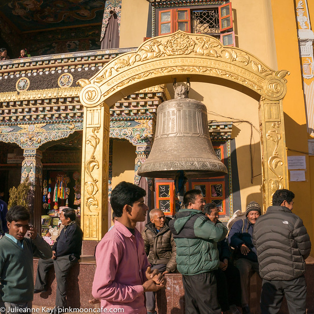 Traveling Monks Selling Books