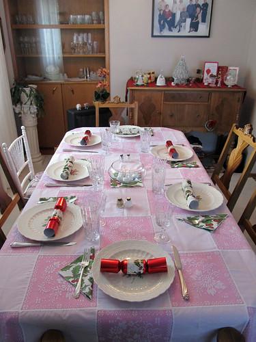 Xmas Dinner Table 2