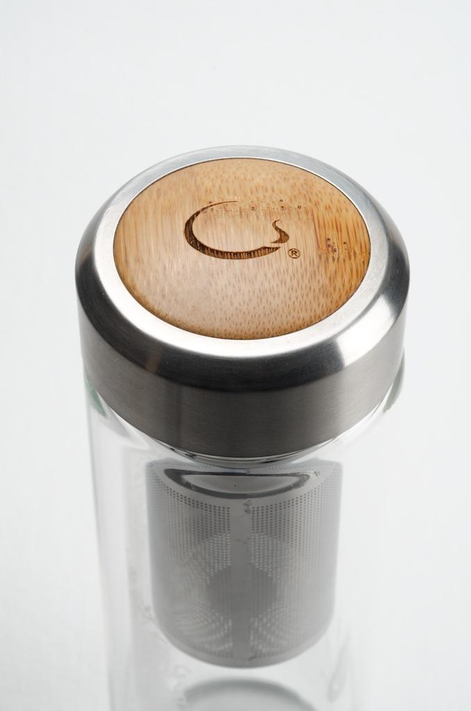 Chinese Glass Tea Flask