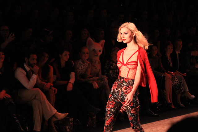 Berlin Fashion Week Lena Hoschek Januar 2014 lisforlois