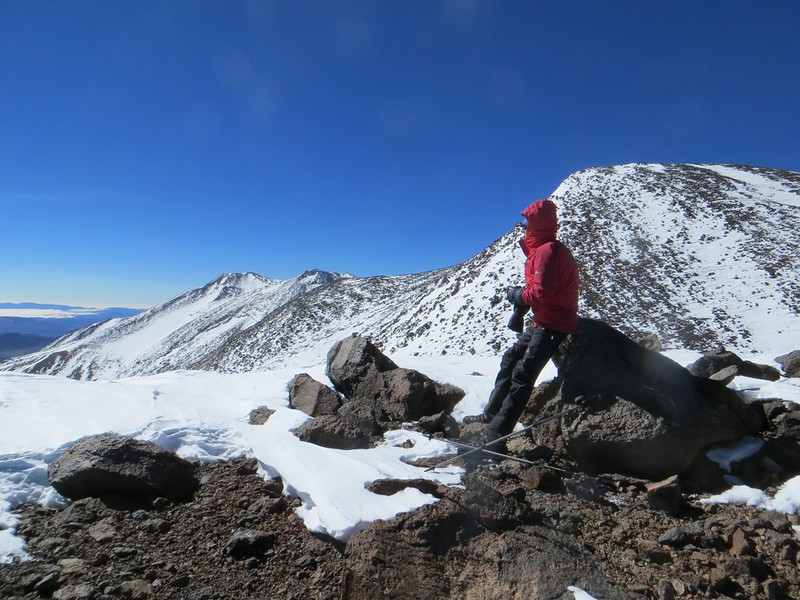 On the Gendarmeria Argentina summit (6690m) of Pissis